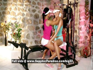 ashley and bianca lesbian teen beauties have sex