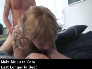tattooed blond hussy gets her a-hole hammered and