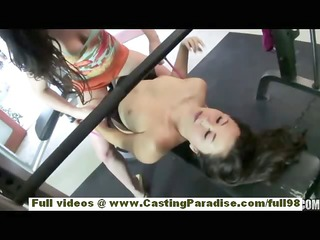 jennifer white and kita zen asian brunette hair